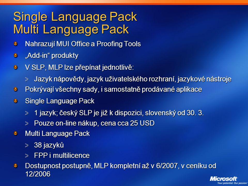 Single Language Pack Multi Language Pack