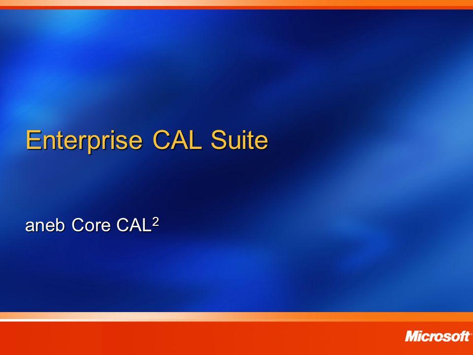 Enterprise CAL Suite aneb Core CAL2