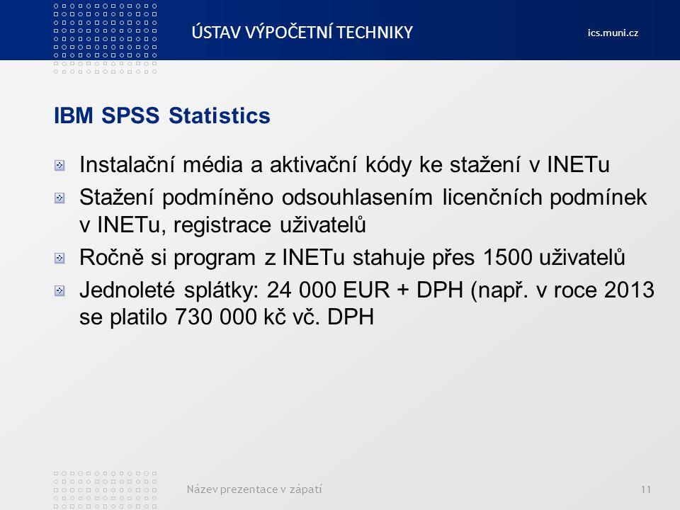 Instalační média a aktivační kódy ke stažení v INETu