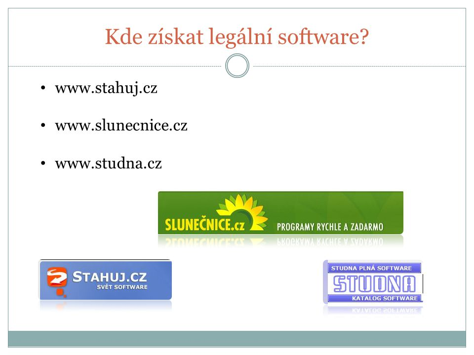 Kde získat legální software