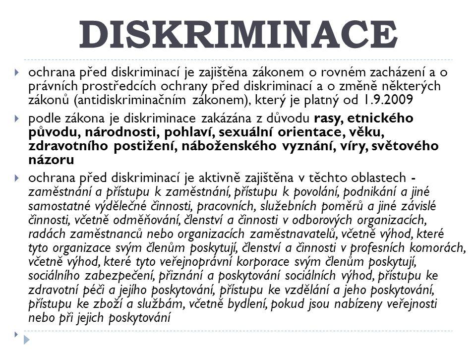 DISKRIMINACE