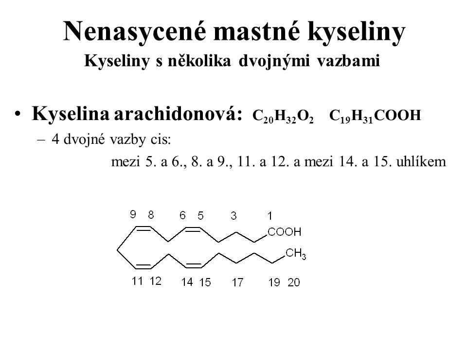 Nenasycené mastné kyseliny