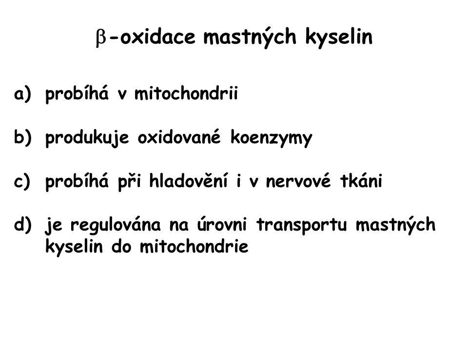 -oxidace mastných kyselin