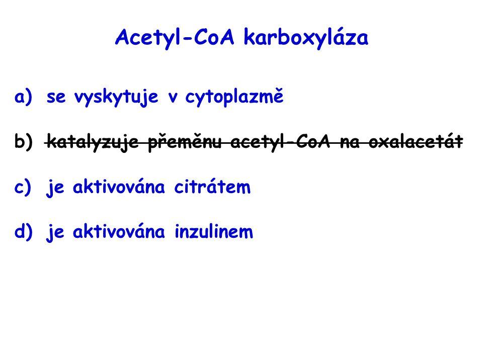 Acetyl-CoA karboxyláza