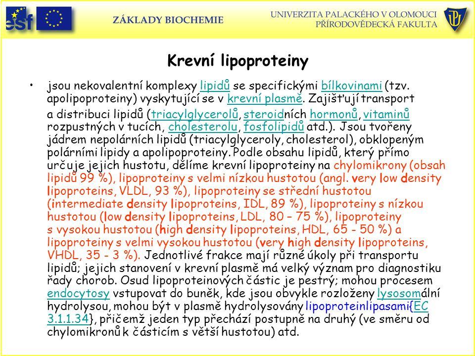 Krevní lipoproteiny
