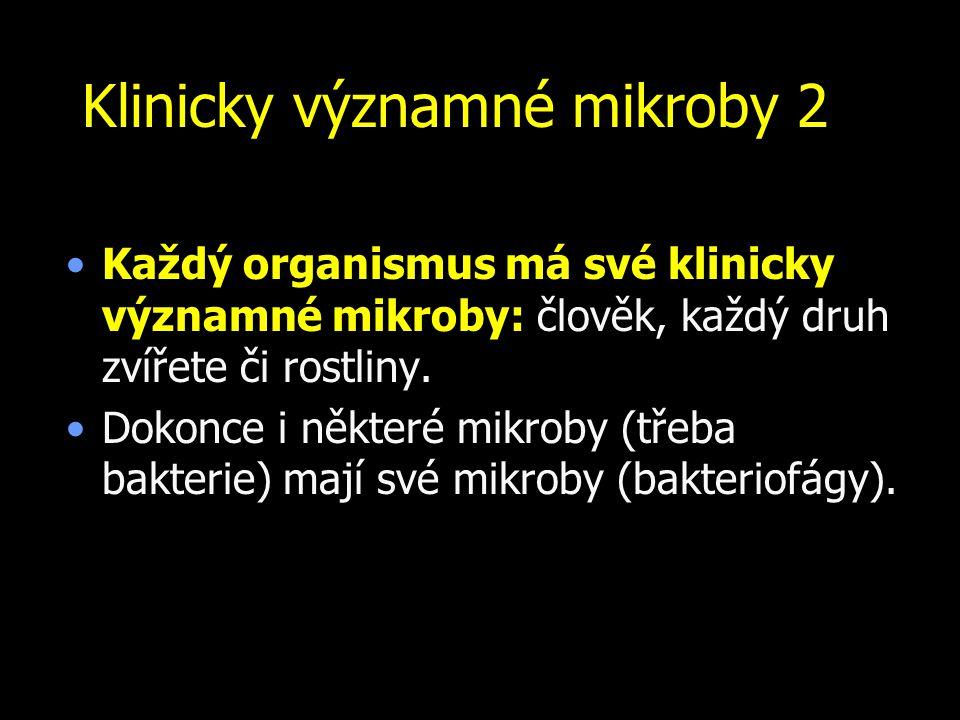 Klinicky významné mikroby 2