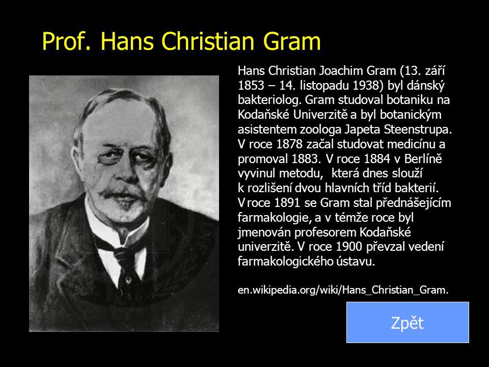 Prof. Hans Christian Gram