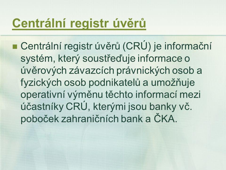 Centrální registr úvěrů