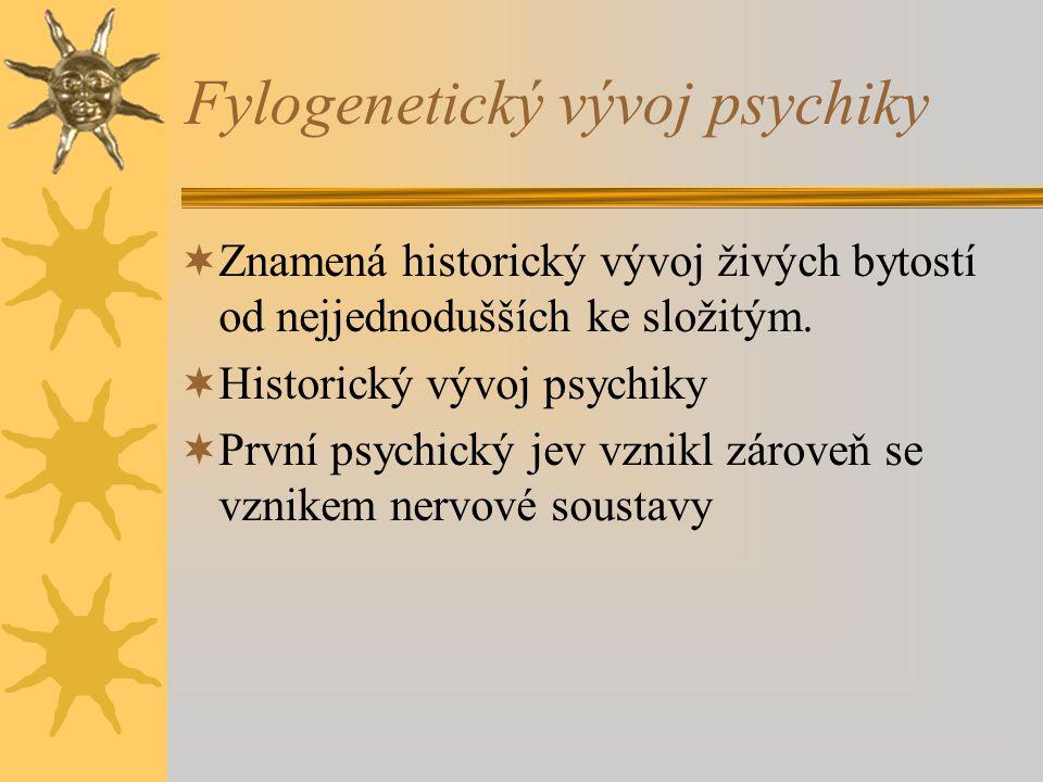 Fylogenetický vývoj psychiky