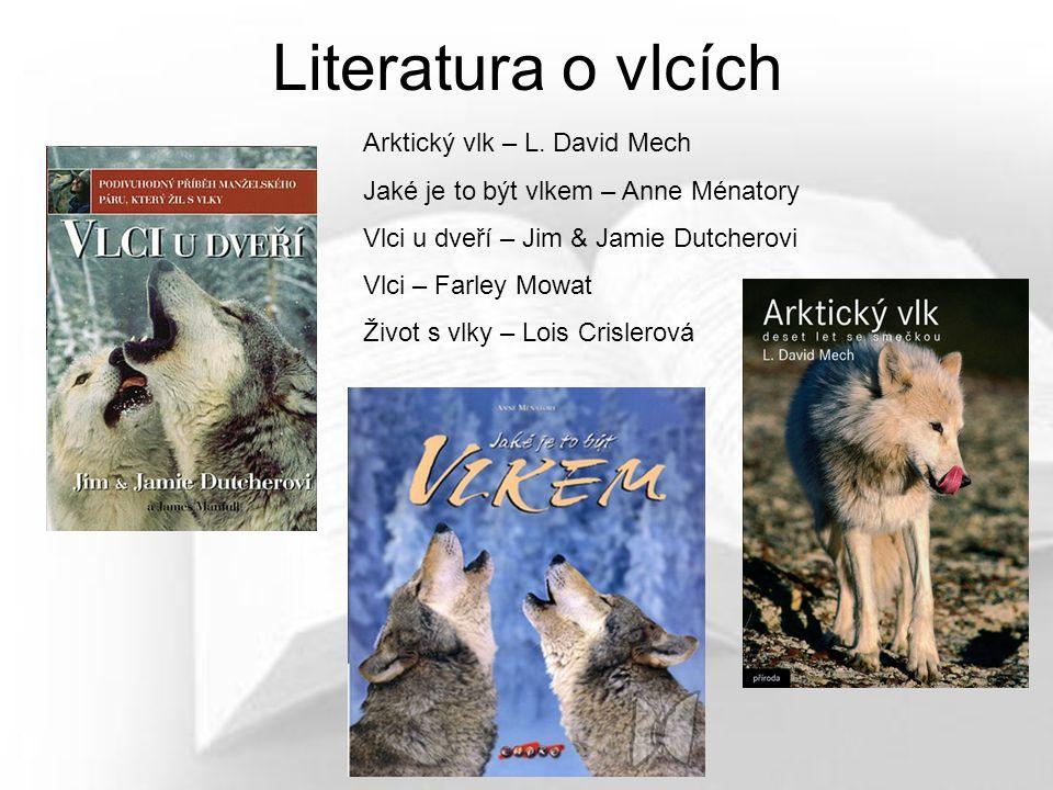 Literatura o vlcích Arktický vlk – L. David Mech
