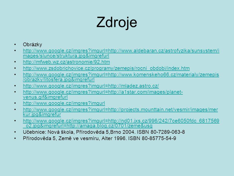 Zdroje Obrázky. http://www.google.cz/imgres imgurl=http://www.aldebaran.cz/astrofyzika/sunsystem/images/slunce/struktura.jpg&imgrefurl.