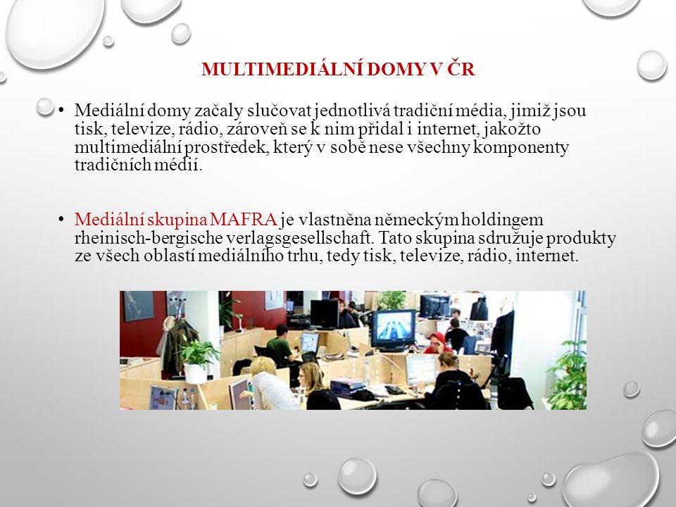 Multimediální domy v ČR