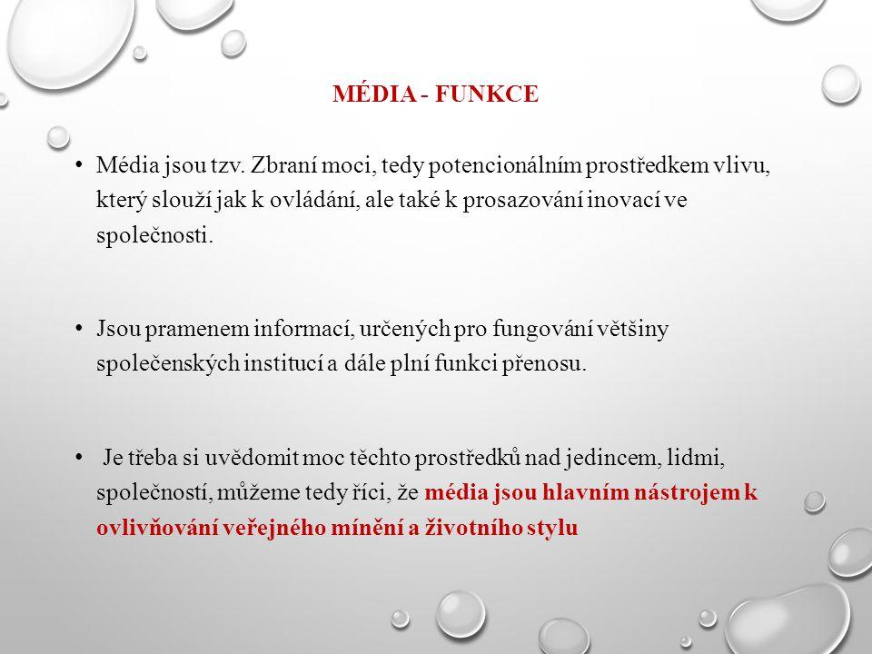 Média - funkce