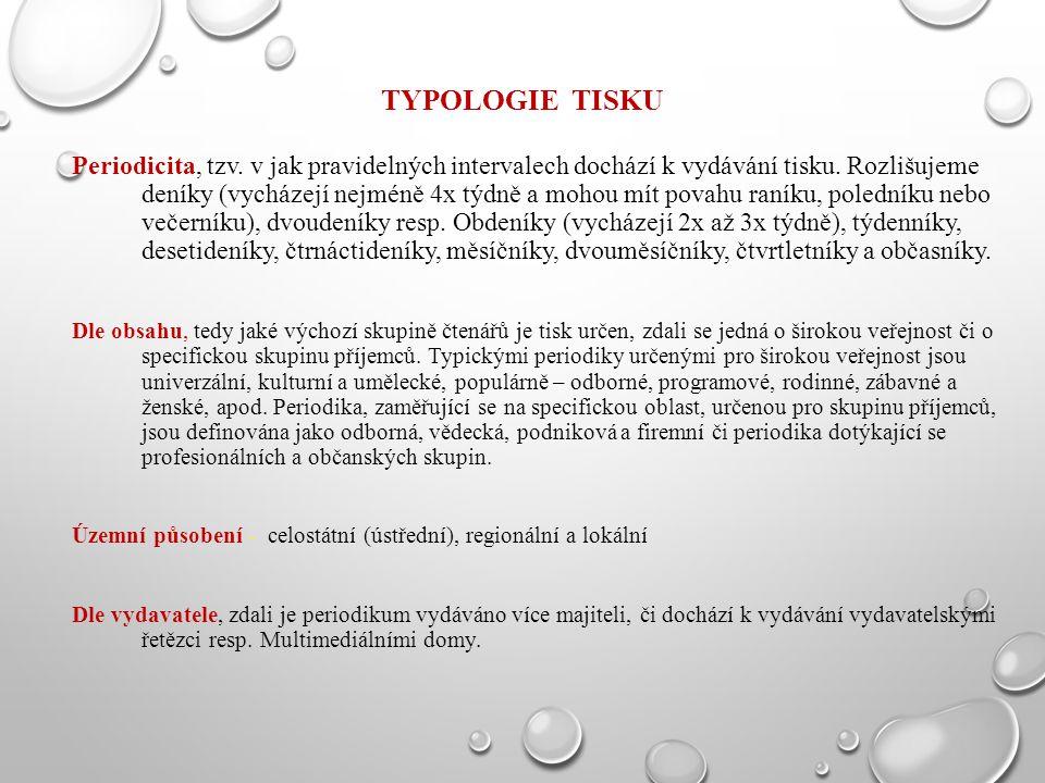 Typologie tisku