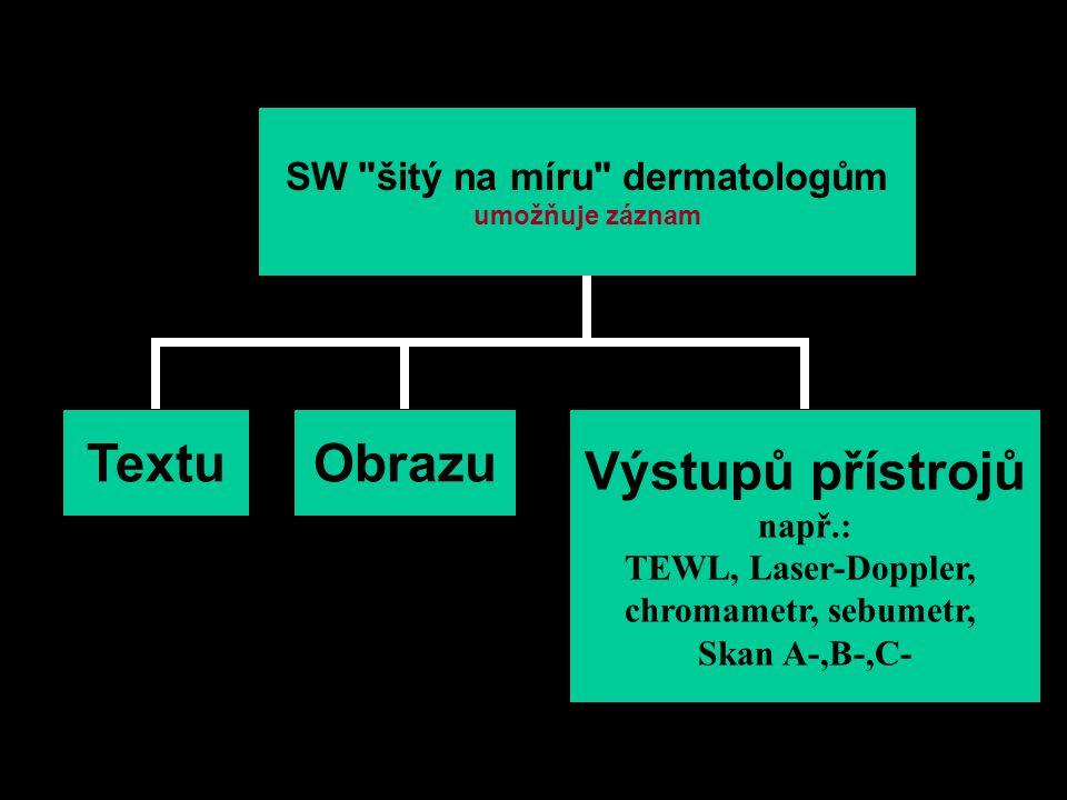 SW šitý na míru dermatologům