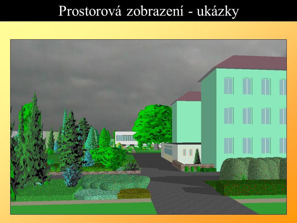Prostorová zobrazení - ukázky