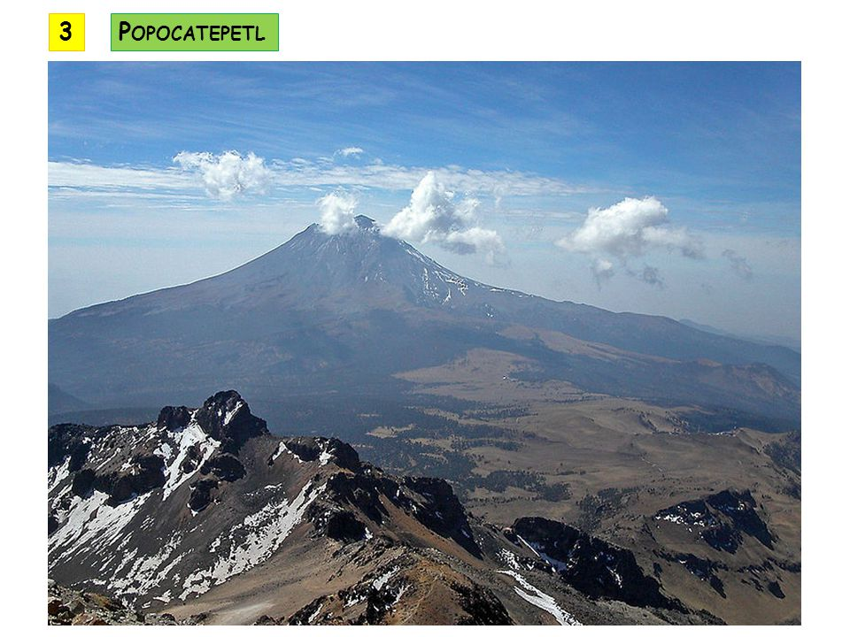 3 Popocatepetl