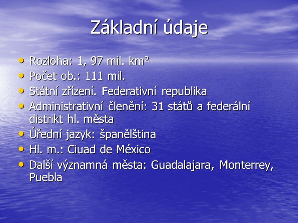 Základní údaje Rozloha: 1, 97 mil. km² Počet ob.: 111 mil.