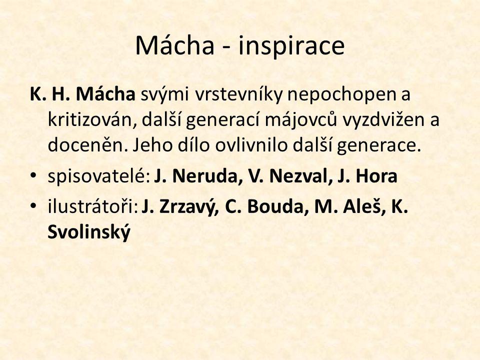 Mácha - inspirace