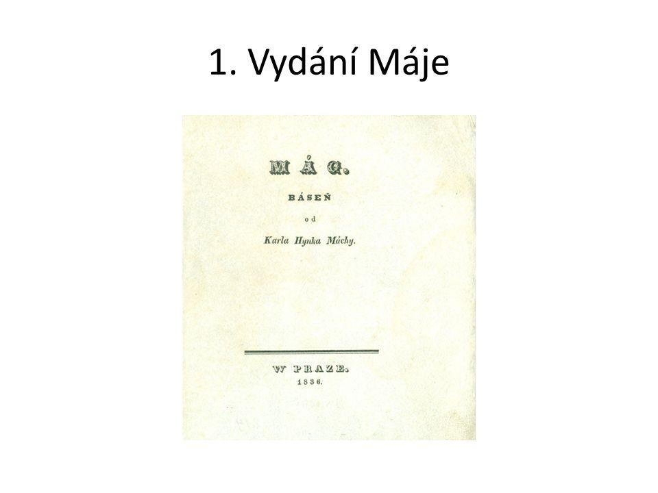 1. Vydání Máje