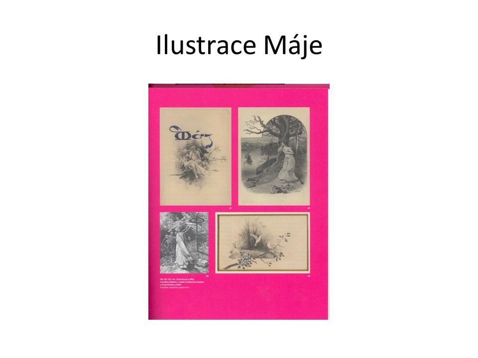 Ilustrace Máje