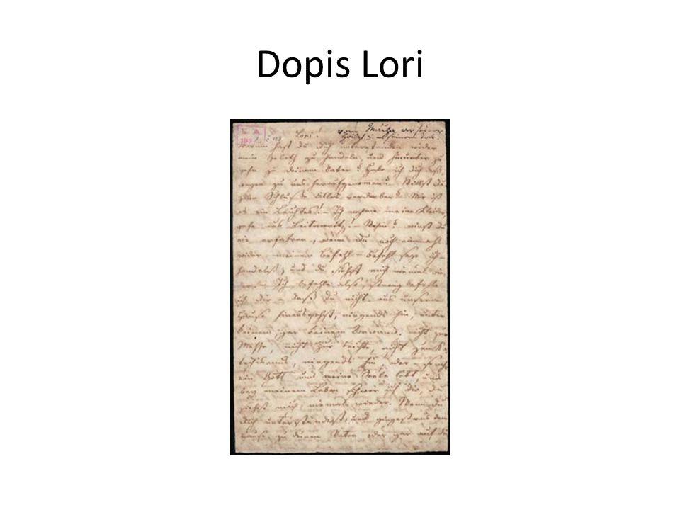 Dopis Lori