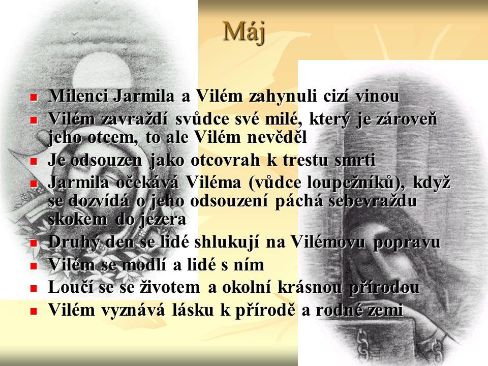Máj Milenci Jarmila a Vilém zahynuli cizí vinou
