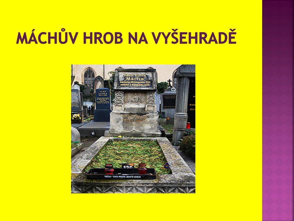 Máchův hrob na vyšehradě
