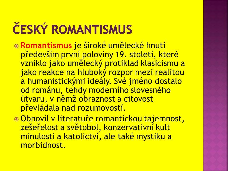 Český romantismus