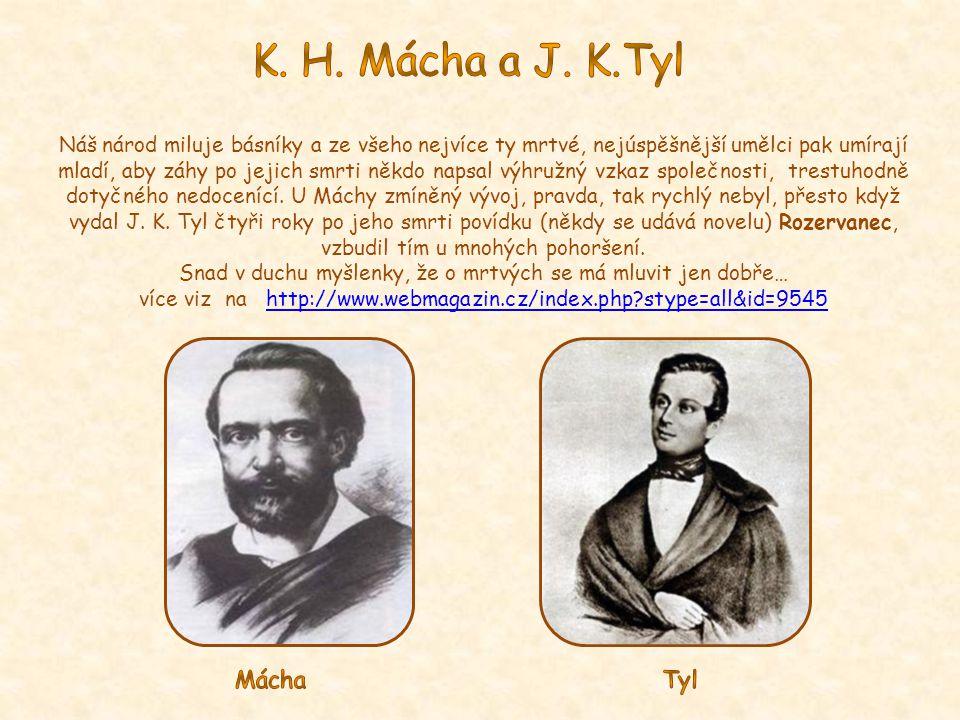K. H. Mácha a J. K.Tyl Mácha Tyl