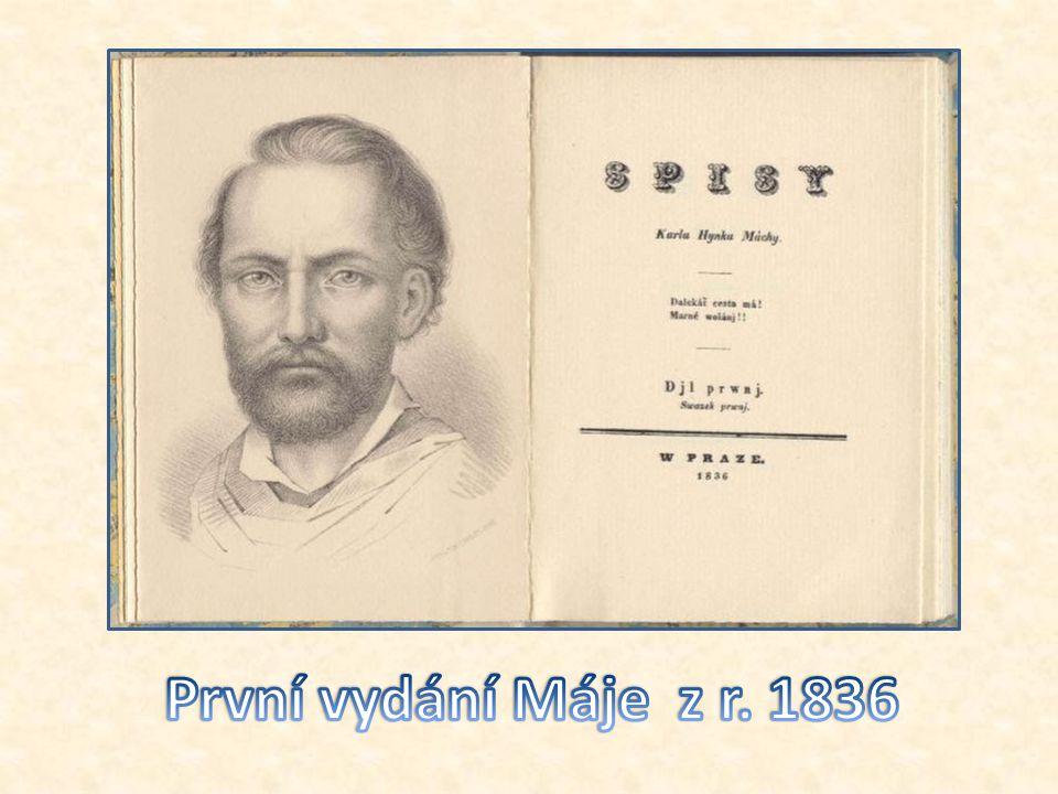 První vydání Máje z r. 1836