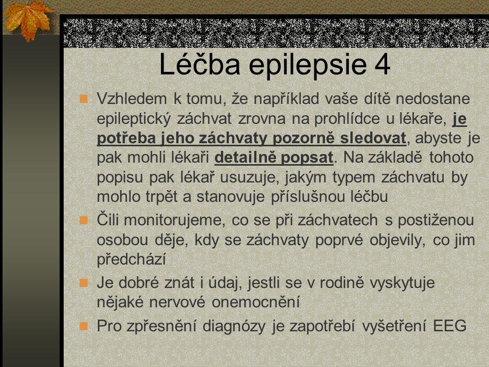 Léčba epilepsie 4