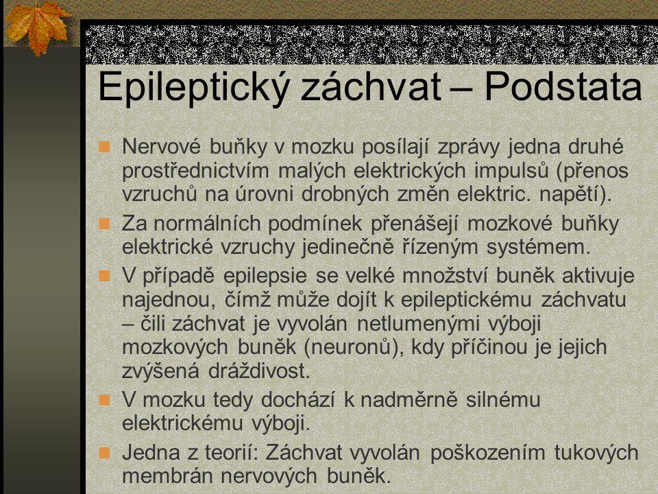 Epileptický záchvat – Podstata