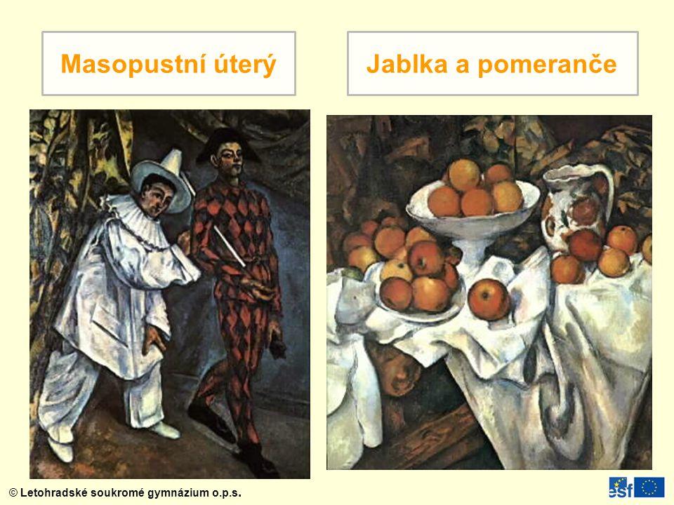Masopustní úterý Jablka a pomeranče
