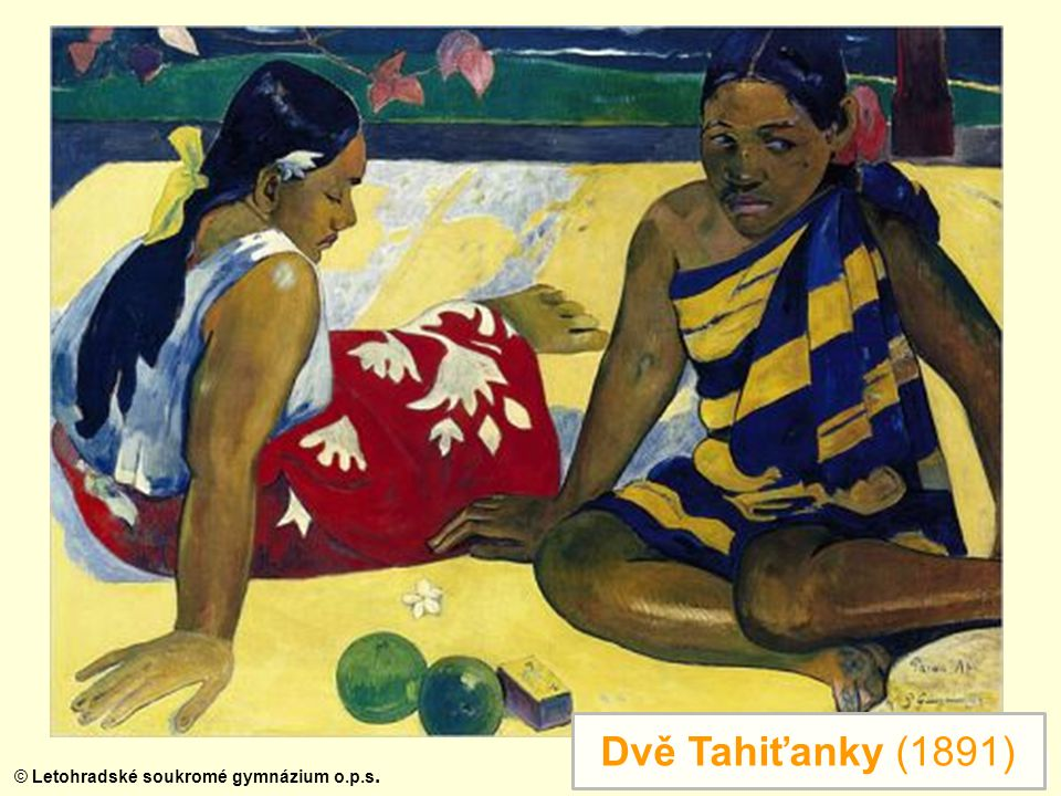 Dvě Tahiťanky (1891)