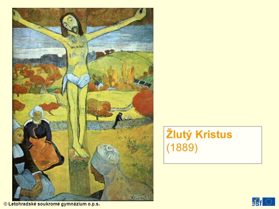 Žlutý Kristus (1889)
