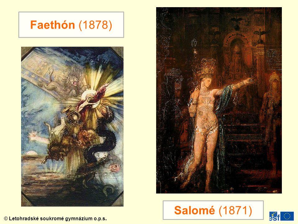 Faethón (1878) Salomé (1871)