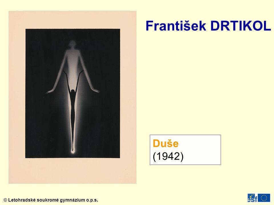 František DRTIKOL Duše (1942)