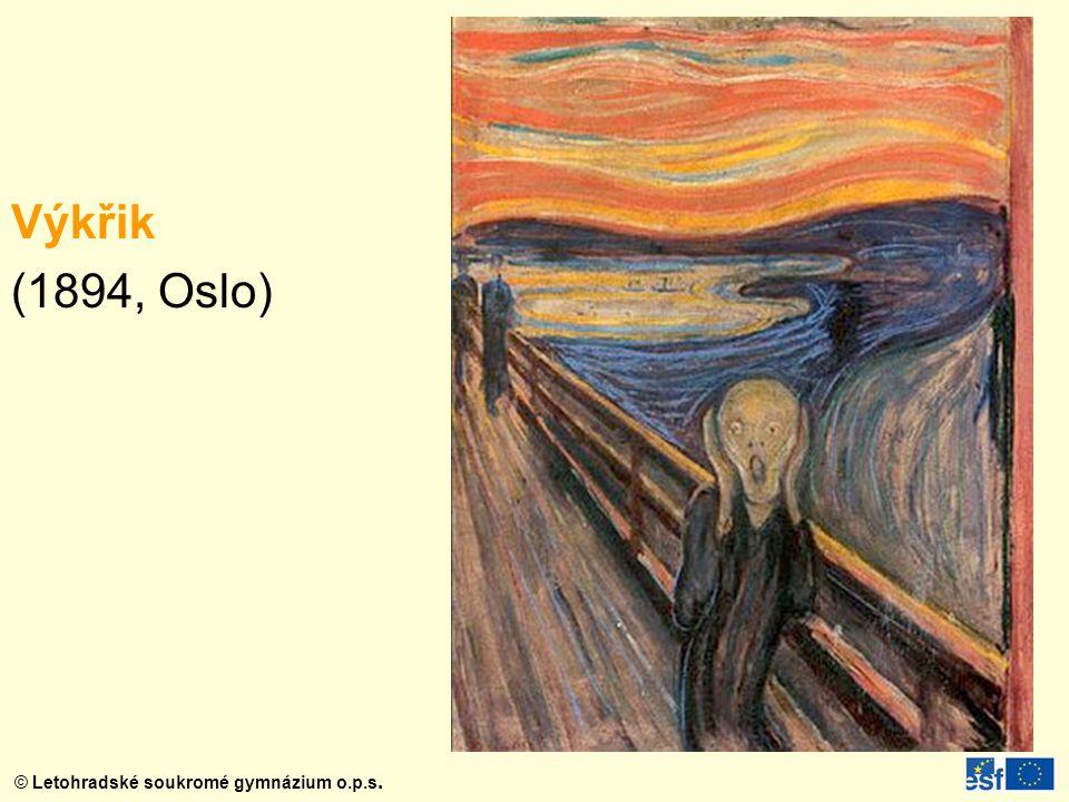 Výkřik (1894, Oslo)