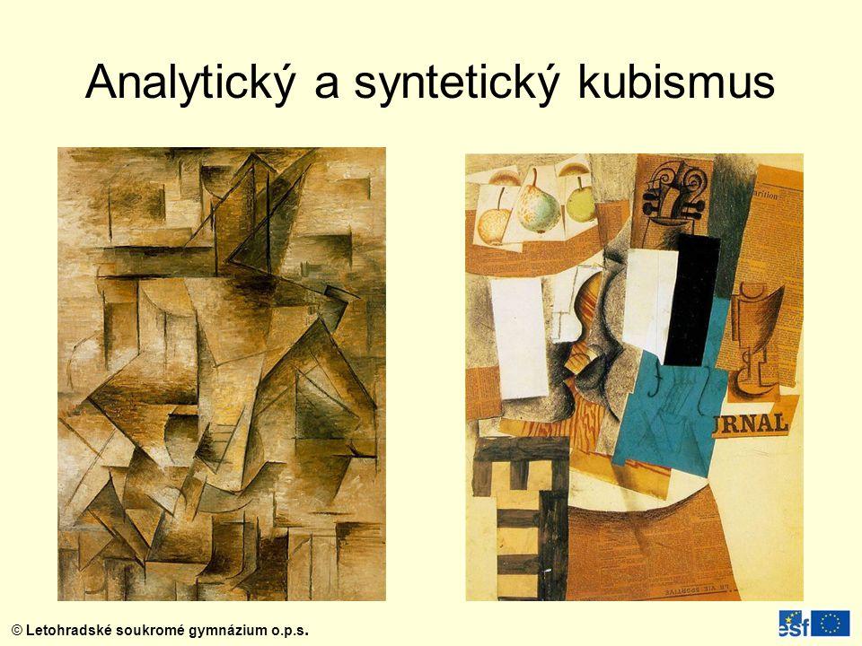 Analytický a syntetický kubismus