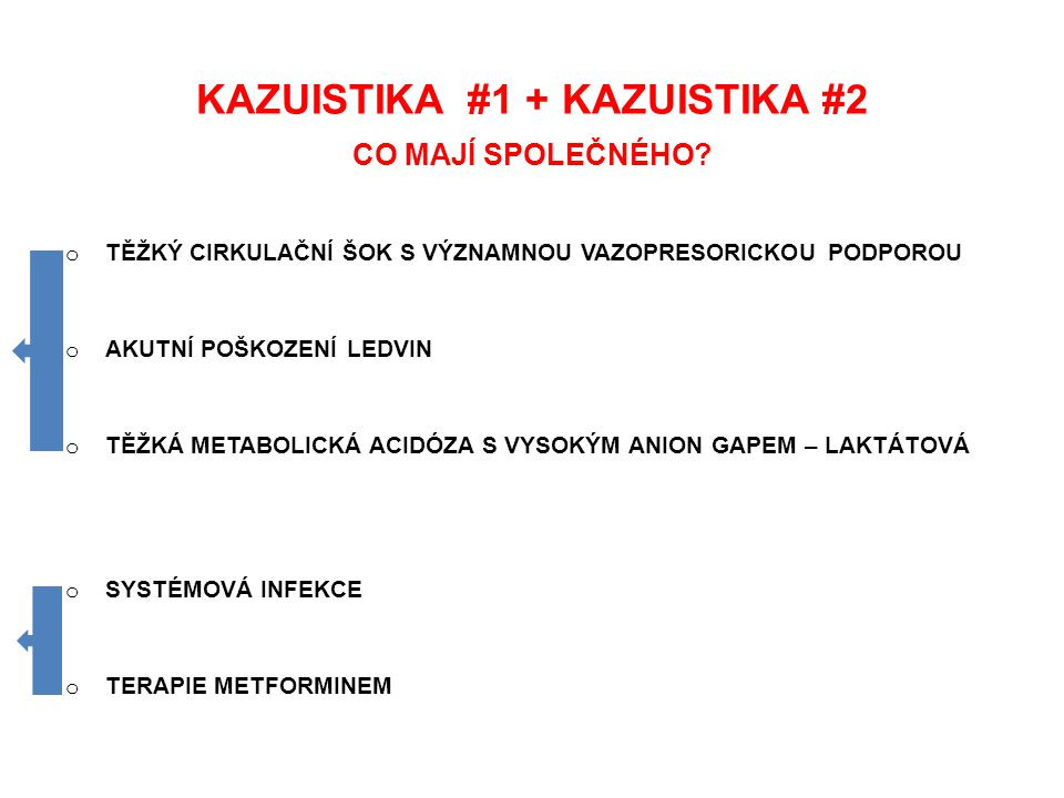KAZUISTIKA #1 + KAZUISTIKA #2