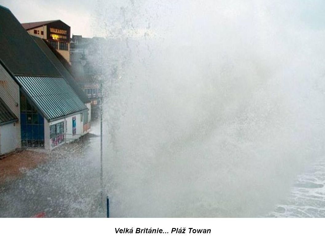 Velká Británie... Pláž Towan