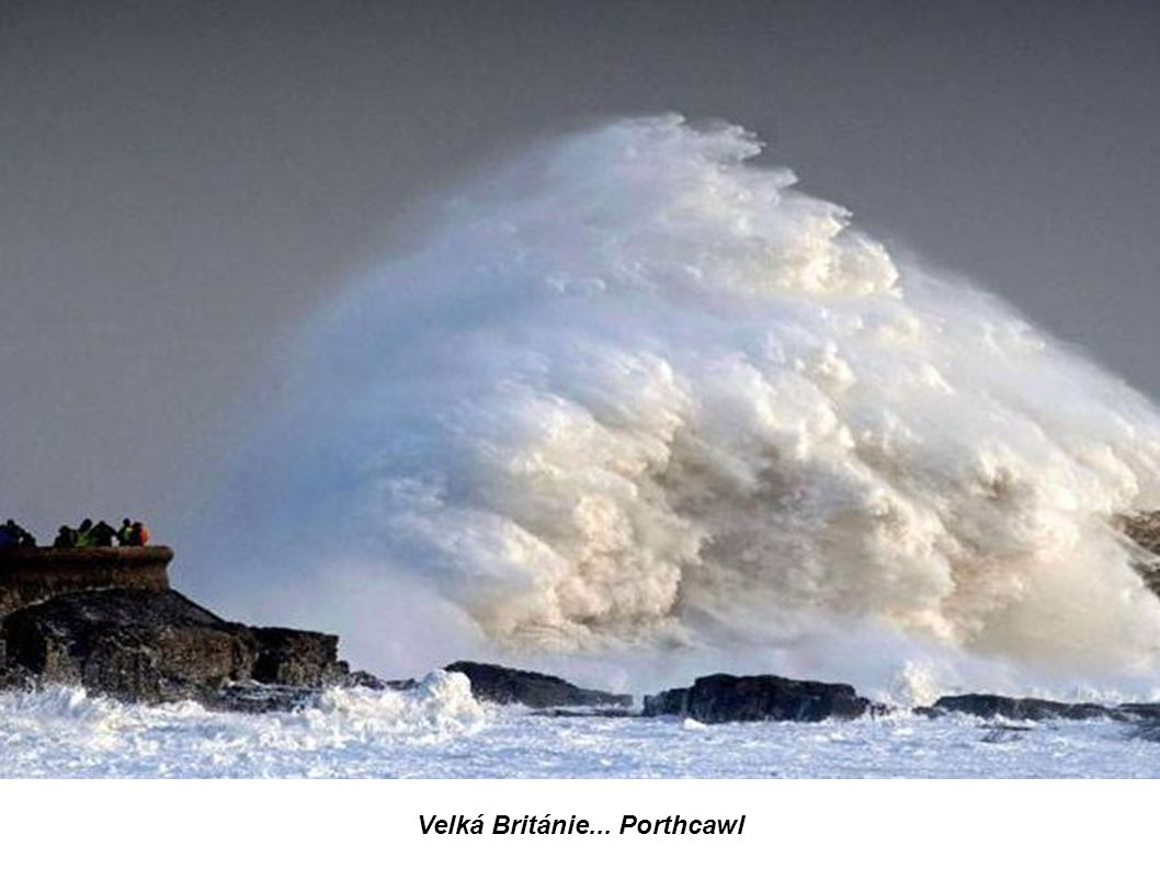 Velká Británie... Porthcawl