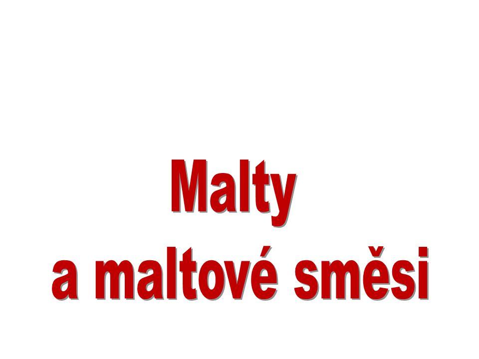 Malty a maltové směsi