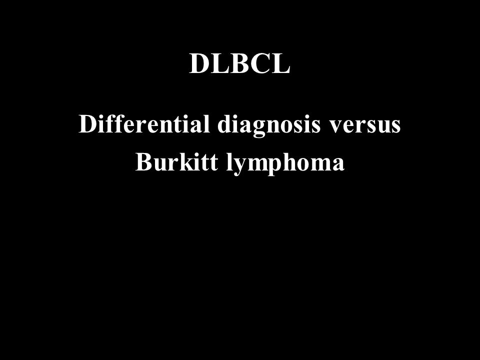 Differential diagnosis versus
