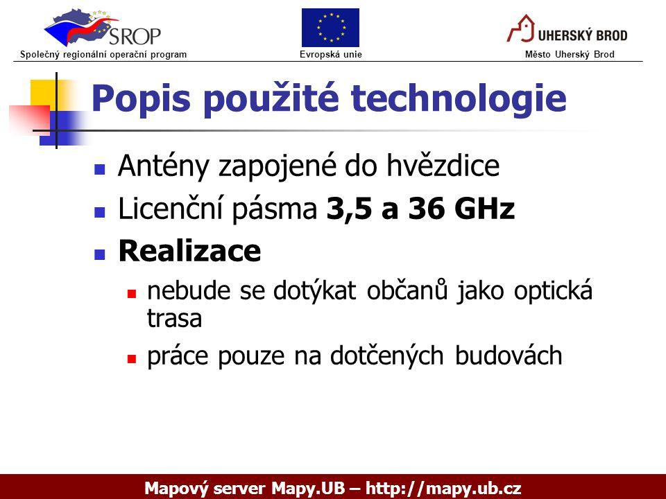 Popis použité technologie