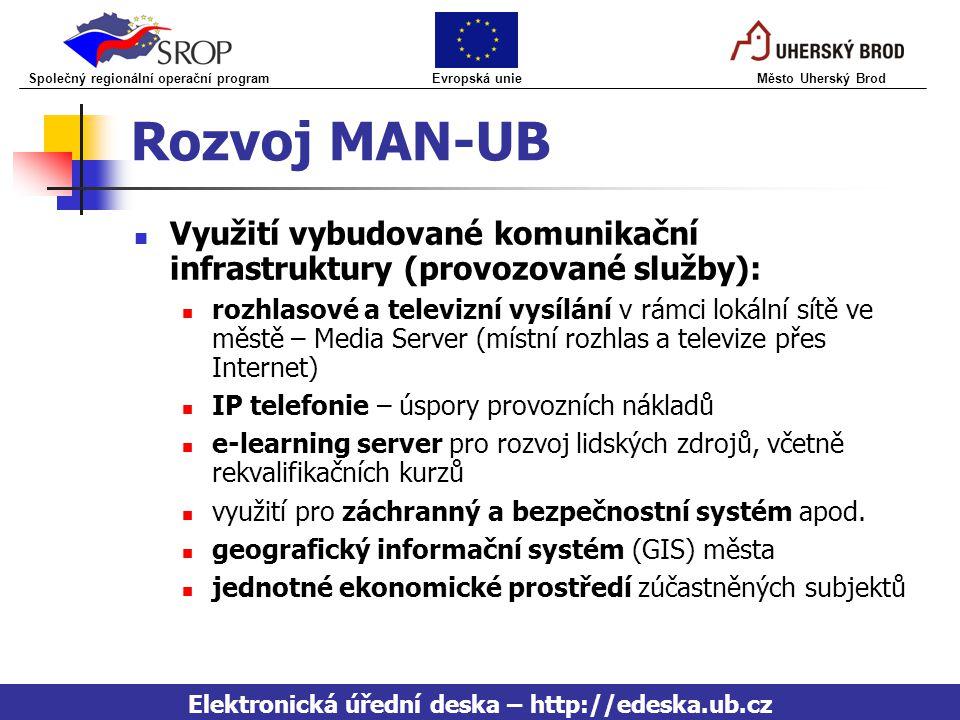 Elektronická úřední deska – http://edeska.ub.cz