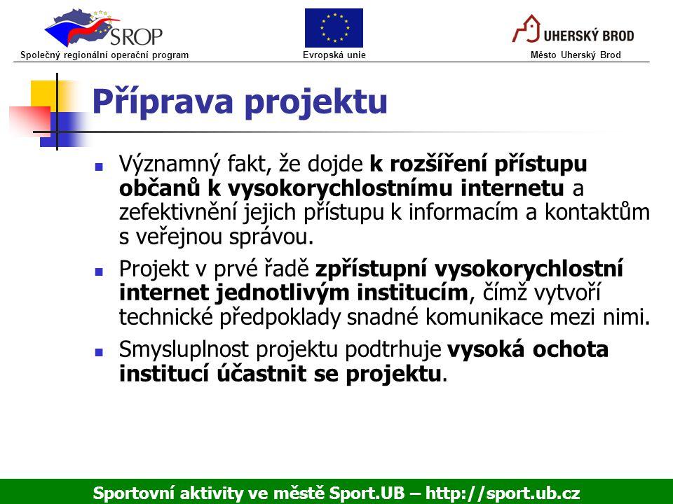 Sportovní aktivity ve městě Sport.UB – http://sport.ub.cz