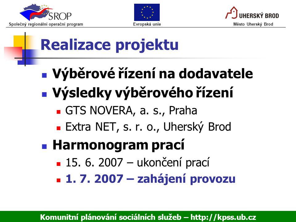 Komunitní plánování sociálních služeb – http://kpss.ub.cz