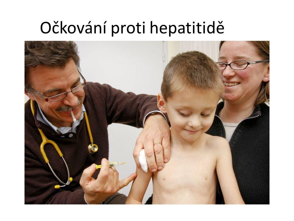 Očkování proti hepatitidě